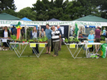 Our stand at the show